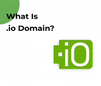 What is .io domain?