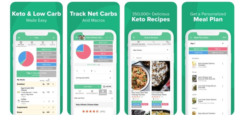 Carbs Manager app
