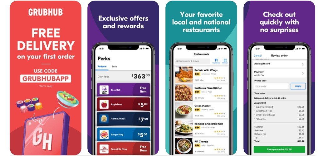 best food apps 2020