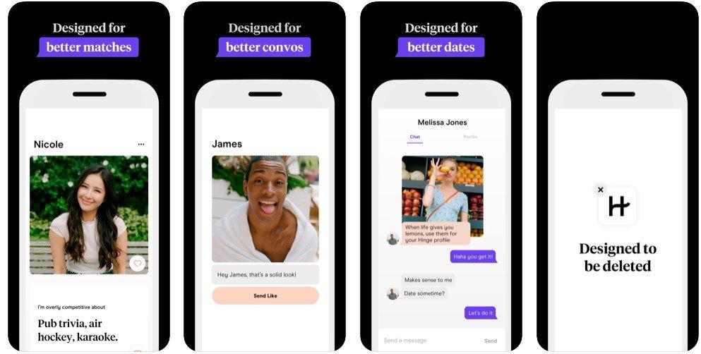 Hinge app for dating