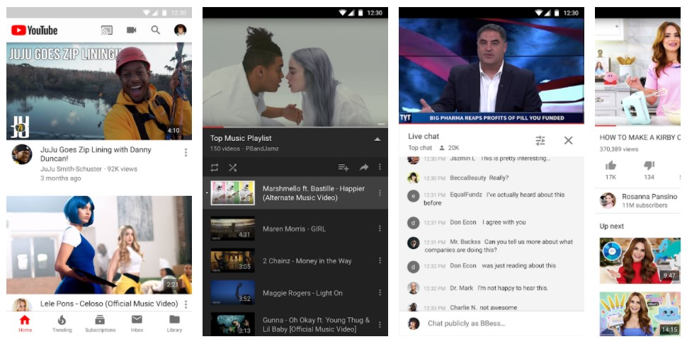 YouTube for Android