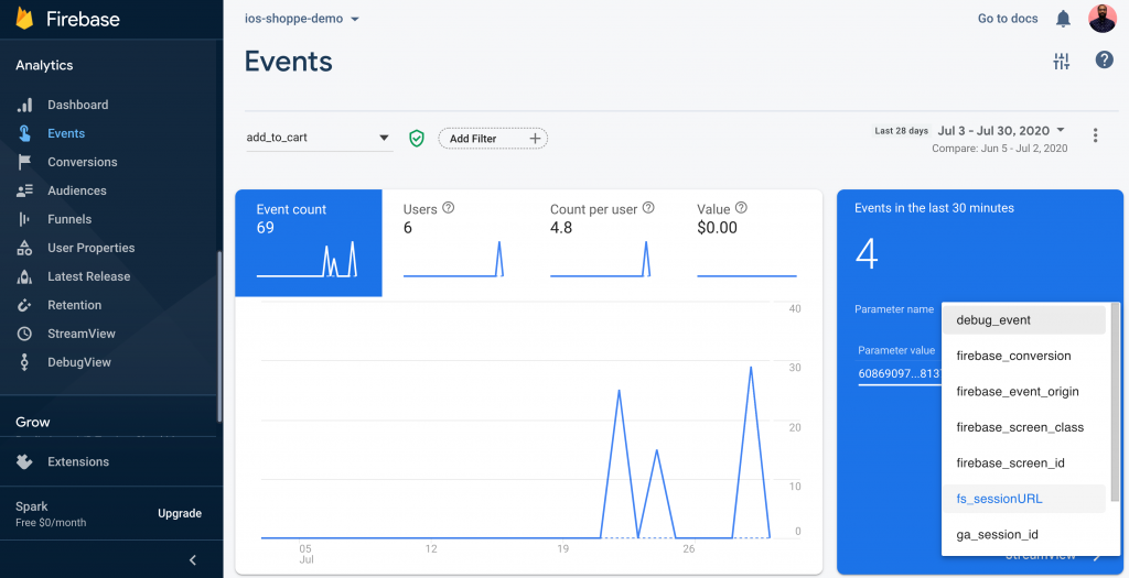 Fullstory app analytics