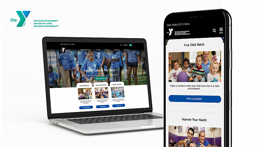 Web Design and SEO for YMCA of Greater New York City image 1