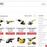 Hand Tools - Ecommerce website