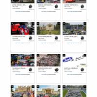 Car Event Management Web Application Development