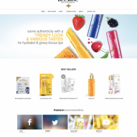 Ecommerce web application development for a Leading Cosmetic Brand of MENA Region