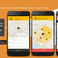 Pixi - A Mobile App To Get Fast & Reliable Rides In Minutes - Day Or Night