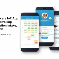Healthcare IoT App for Controlling Medication Intake, CuePath