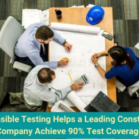 Responsible Testing Helps a Leading Construction Company Achieve 90% Test Coverage