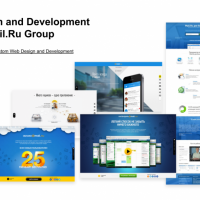 Design and Development for Mail.Ru Group