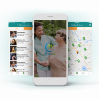 Phlex65 - On-Demand Caregiver App For Healthcare Industry