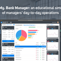 StartMy. Bank Manager: train yourself in close to reality situations