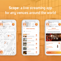 Scope: get inside any venue in the world