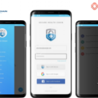 Blockchain Digital Health Records (Mobile App)