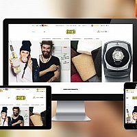 E-commerce for online retailer selling gift & volume products
