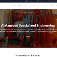 UX/UI Design for AlMansoori Specialized Engineering