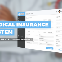 Medical insurance system for document flow management