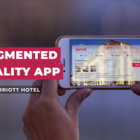 Augmented Reality App for Marriott Hotel