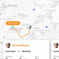Corbata - Ride sharing app