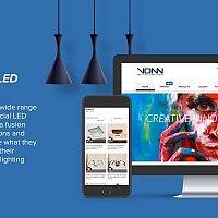 Web Development and E-commerce for VONN Lighting