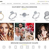 Jewelry Web Design and Development for a Chicago Store