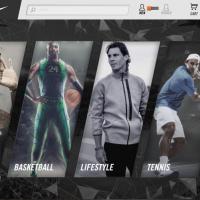 Nike Kiosk Application