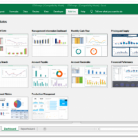 Excel Based Financial Reporting Software