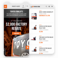 eCommerce for Toyota