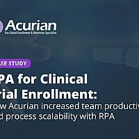 How Acurian increased team productivity and process scalability with RPA