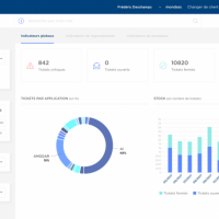 Customizable dashboarding for an IT department