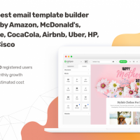 Email Template Visual Builder for High End Marketing