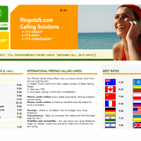 Ringtalk International Calling solutions | e-Commerce Solutions