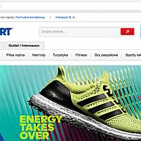 Intersport - Magento redesign and promotion