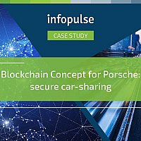 Blockchain concept for Porsche