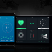 Sport Headphones Control Application