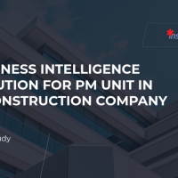 Business Intelligence solution for a Construction company