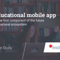 Educational ecosystem. Part 1 - Mobile app