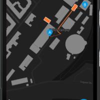 Autonomous ride share app