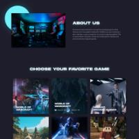 UX/UI Design NEW Game website