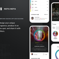NOTA NOTA—personal fragrance-mixing system