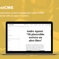 A new generation content management system (CMS) that works with any type of content