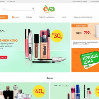 E-commerce Development for Eva.ua