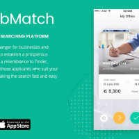 Jobmarch - Job and employee searching platform