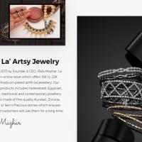 Ecommerce Development for La' Artsy Jewelry Store