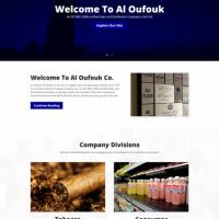 Al Oufouk Corporate Website Development