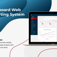 Dashboard Web Reporting System