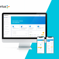EXPERTUS EMPLOYEE PORTAL - Product design and prototyping