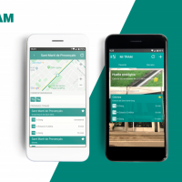 TRAM BARCELONA APP - Direct communication with users