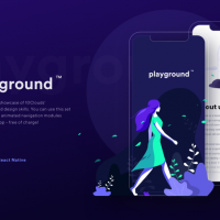 Playground - Pushing the Boundaries of Mobile Designs