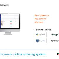 Multi-tenant online ordering system
